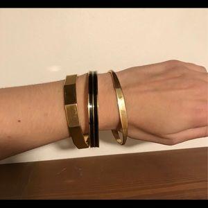 Vintage lot of Monet and Trifari bracelets/bangles